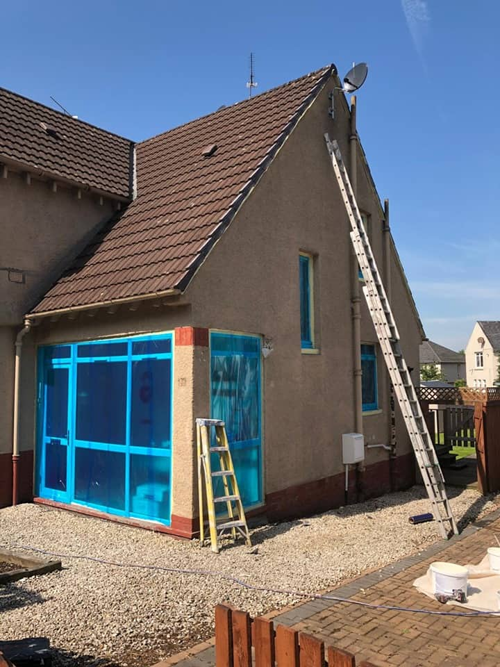 exterior painters in Glasgow