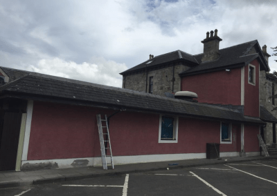 commercial painting Glasgow, Scotland