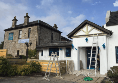 commercial painters in Ayrshire, Scotland