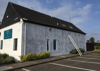 commercial painting in Glasgow, Scotland