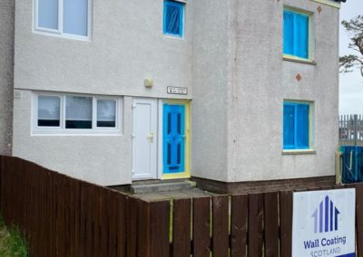 exterior painting in East Kilbride